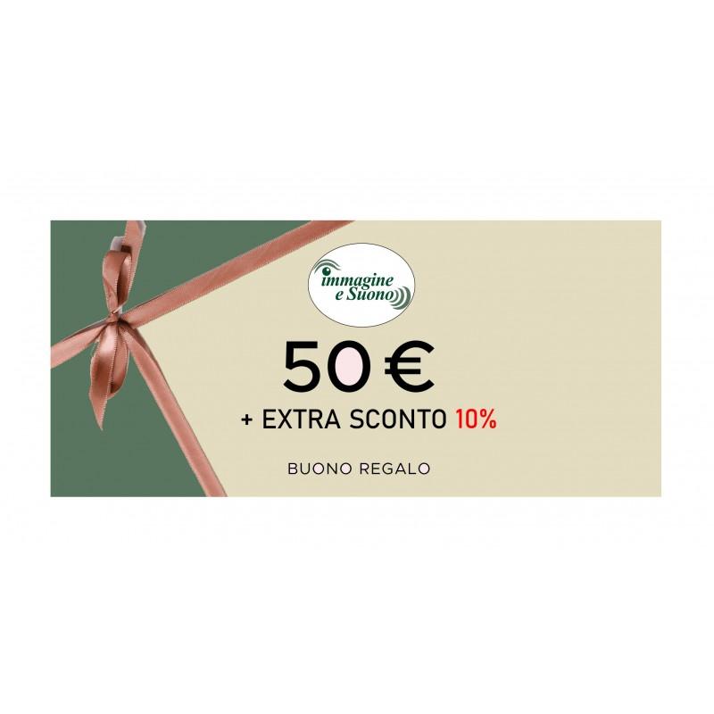 50 euro + Extra sconto 10%