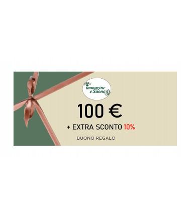 100 euro + Extra Sconto 10%