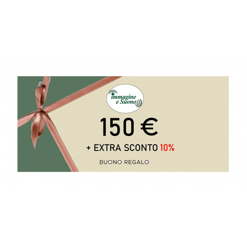 150 Euro + Extra Sconto 10%